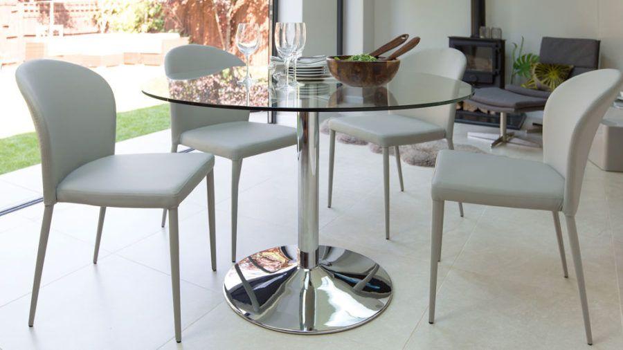 15 Round Glass Dining Room Tables Adding Sophistication To The Meal Esszimmertisch Esstisch Modern Esstisch Design