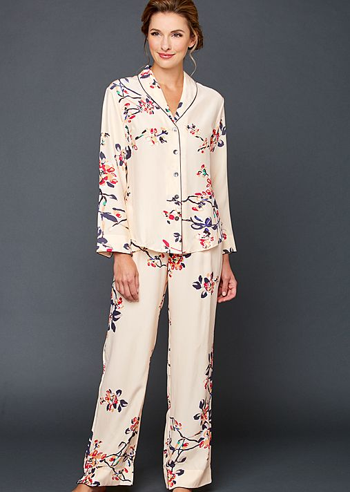 Natalya Silk Print Pajamas - Women s Silk Pajamas 475a68d3e