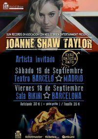Concierto de Joanne Shaw Taylor + Kiko García Blues Band en Madrid en Teatro Barceló (TClub), Madrid