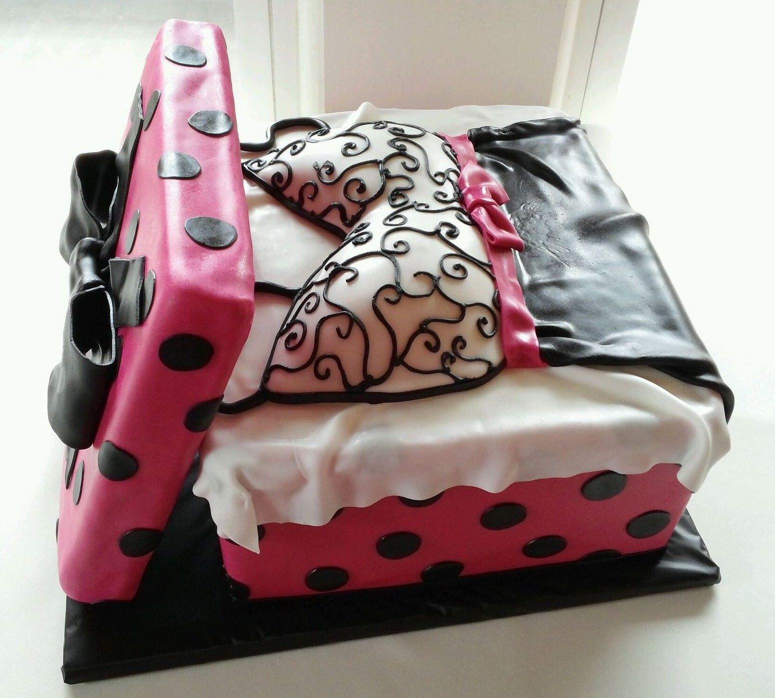Bridal Shower Cake Lingerie in a Gift Box
