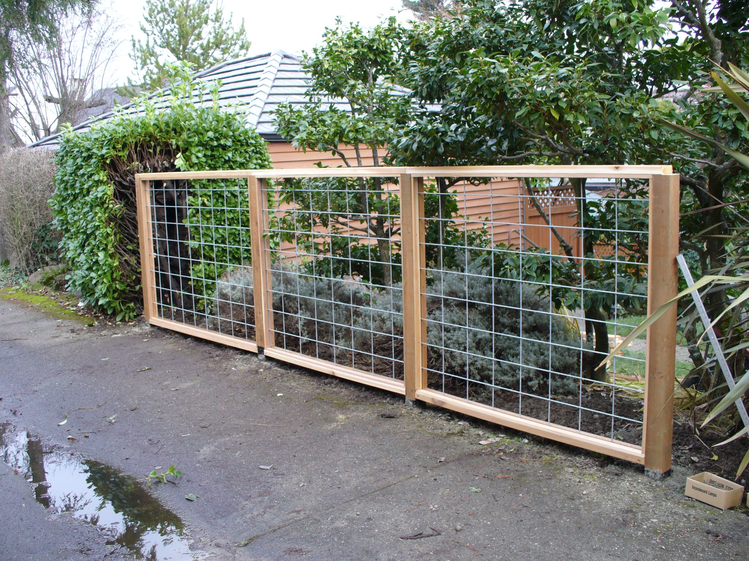 Rigid wire | Garden | Pinterest | Fence gate, Wire fence and Gates