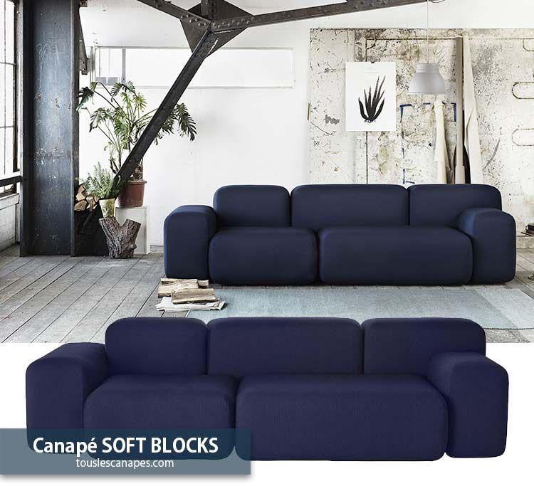 Canape Bleu 20 Modeles Pour Vous Inspirer Et Decorer Votre Salon Canape Bleu Canape Design Canape