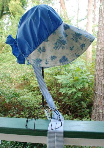 Sun Bonnet, Blue