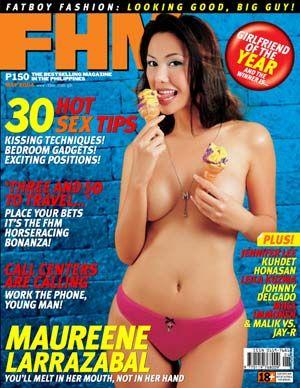 Confirm. happens. Maureen larrazabal topless photos