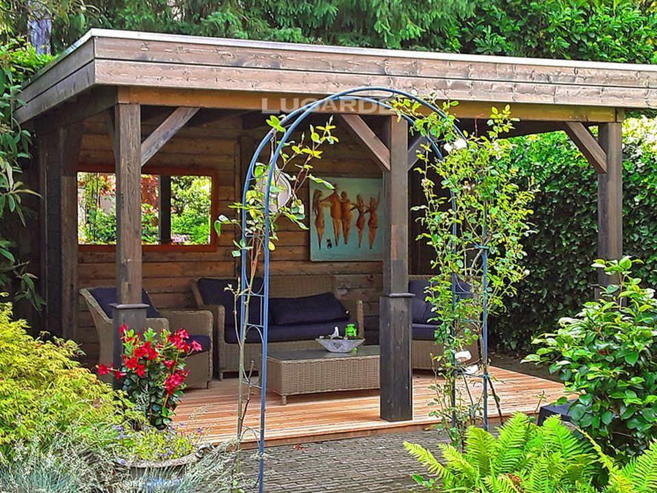 Lugarde Athens Gazebo VV6 with flat roof (With images)