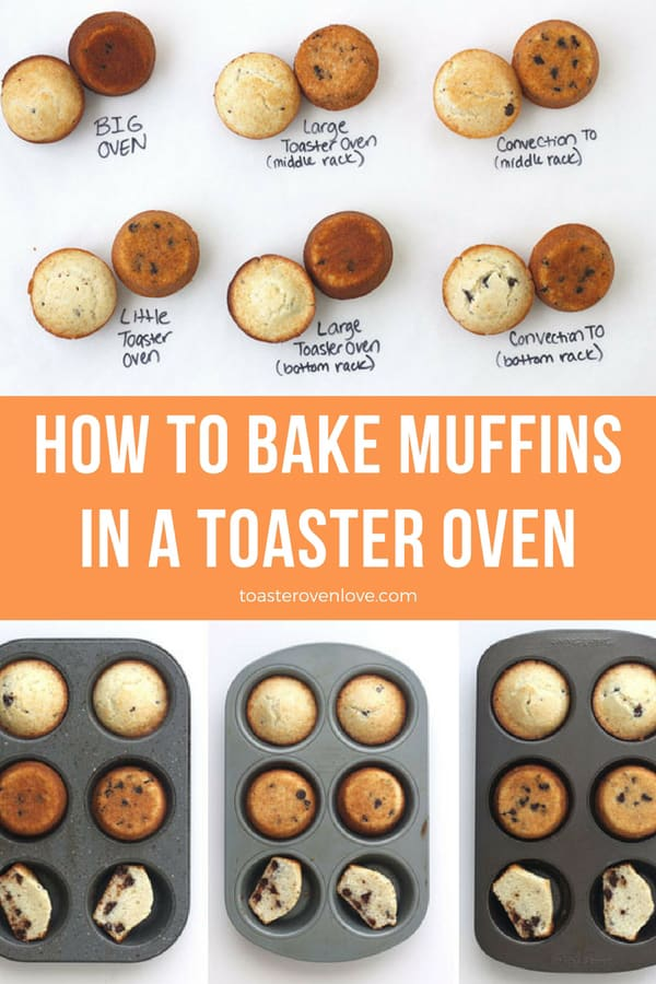 How To Bake Muffins In A Toaster Oven With Images Toaster Oven
