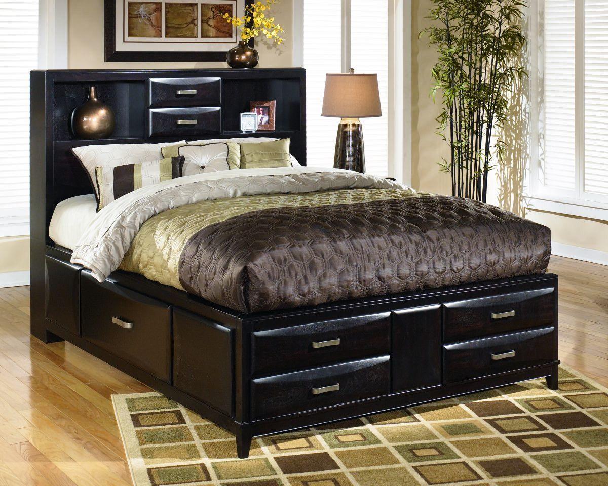 Kira King Size Bed King Storage Bed Headboard Storage Bed Furniture