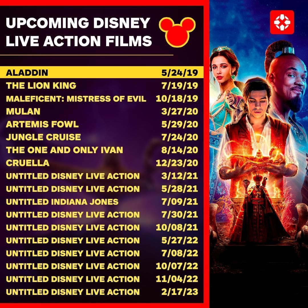 What do you think of Disney's live action films
