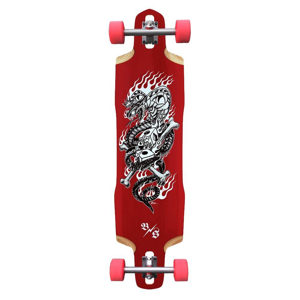 Bombsquad | Snake Eyes – Longboard Skateboard