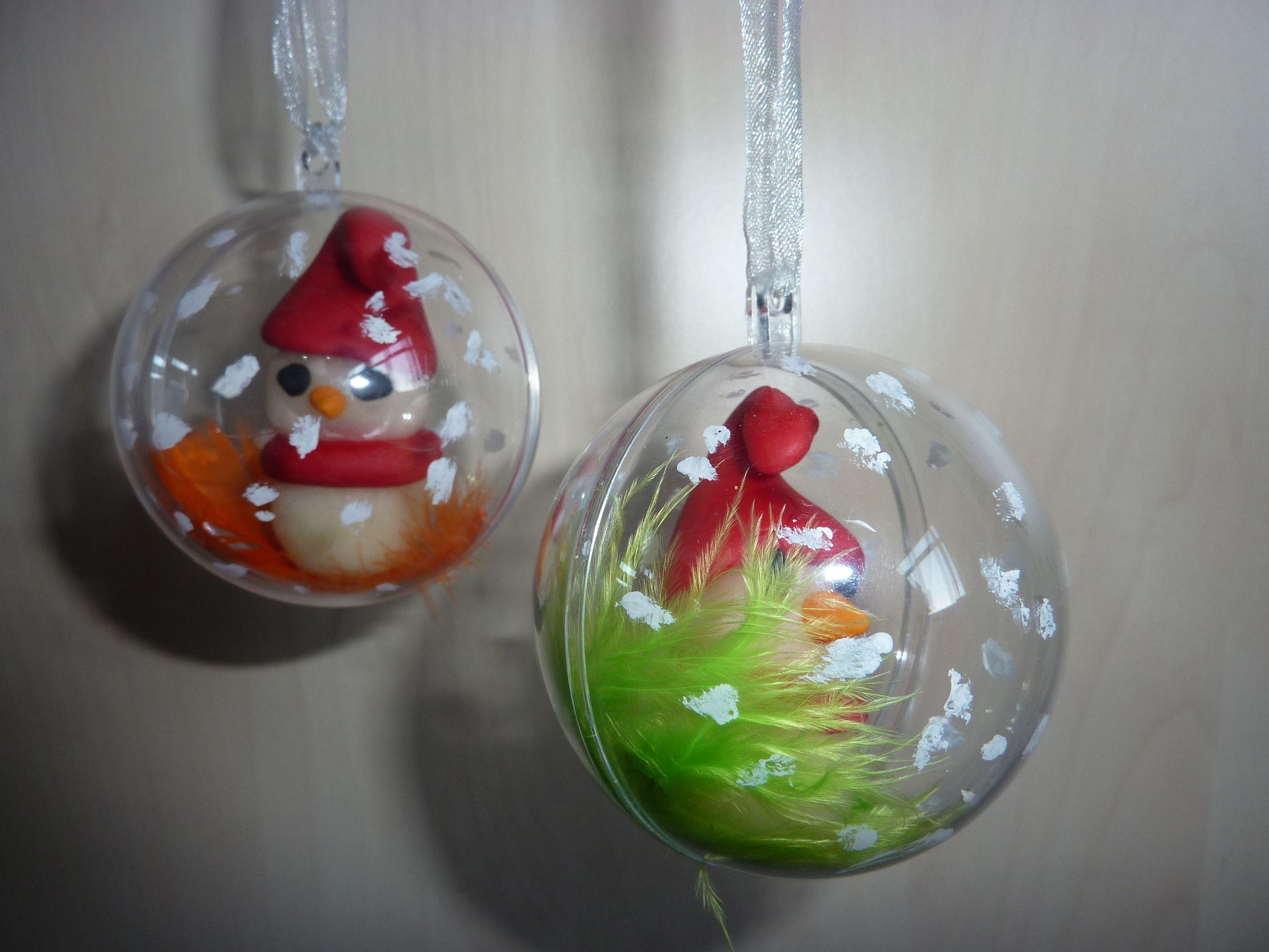 Boule De Noel Transparente A Decorer noël: arts visuels, calendriers, fabriquer père noel | noel