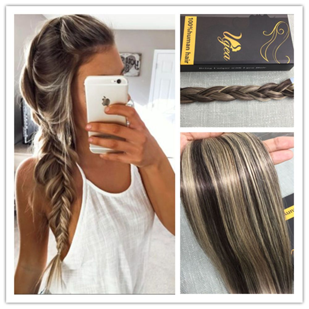 Balayage Real Brazilian Tape In Human Hair Extensions Skin Weft