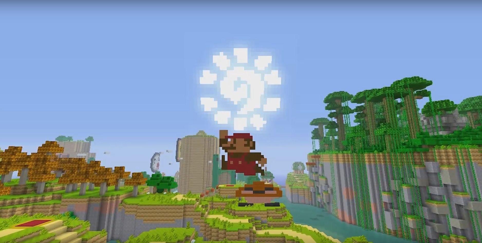 Minecraft Wii U Edition SpieleUpdate Im Super MarioLook Http - Minecraft wii spielen