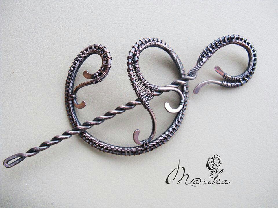 Marina Afanaszjeva   To Inspire   Pinterest   Wire wrapping, Shawl ...