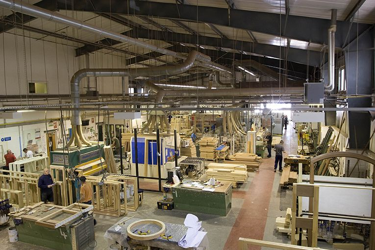 The factory timber window manufacturer mumford wood for Wood window manufacturers