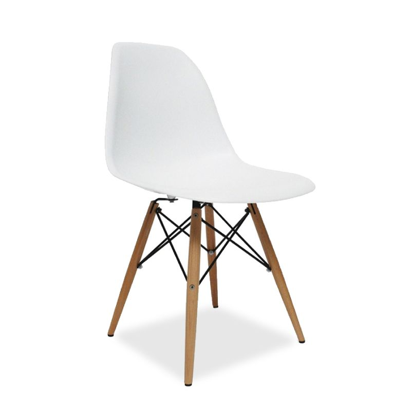 Eames Style Dining Chairs Molded Plastic Chair Replica