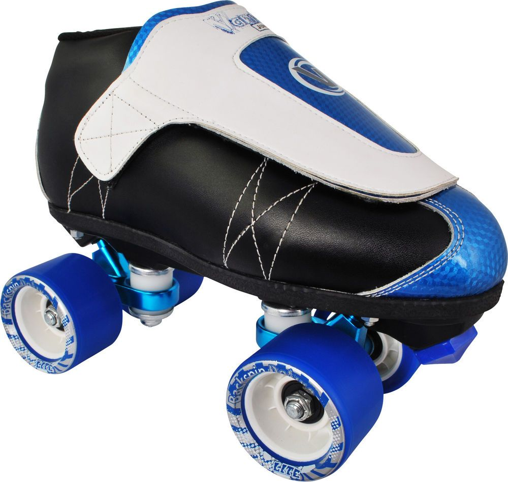 Roller skates for plus size - Vanilla Smurf Junior Jam With Gorilla Trucks Quad Speed Roller Skates Size 3 11