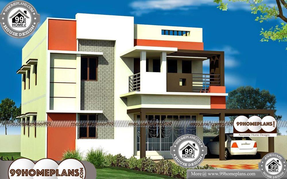 Indian Duplex House Elevation Designs | Duplex house ...
