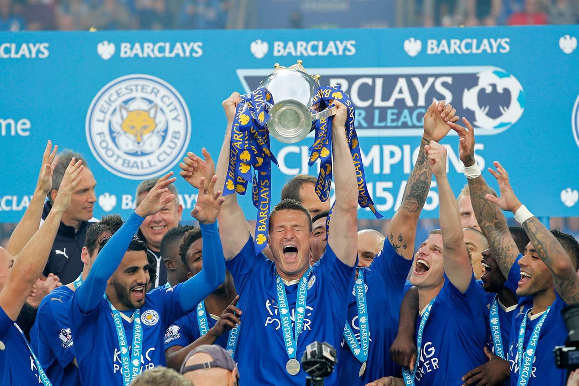 Jamie Vardy And Leicester Hold Premier League Title Like We Ve Never Seen Before Lester