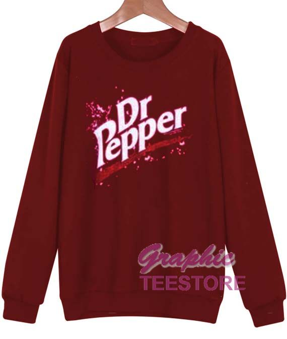 9d62fe4a0 Dr Pepper sweatshirt graphic tees //Price: $24.99 // #graphic tees for men