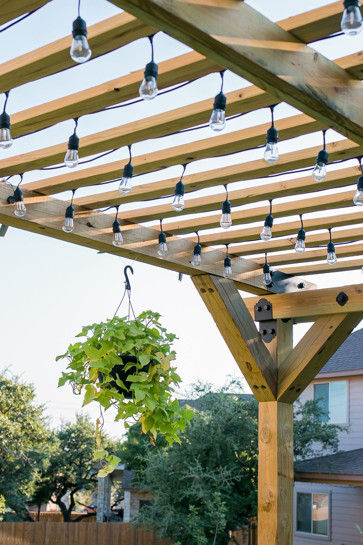 How to build a diy pergola with simpson strongtie outdoor