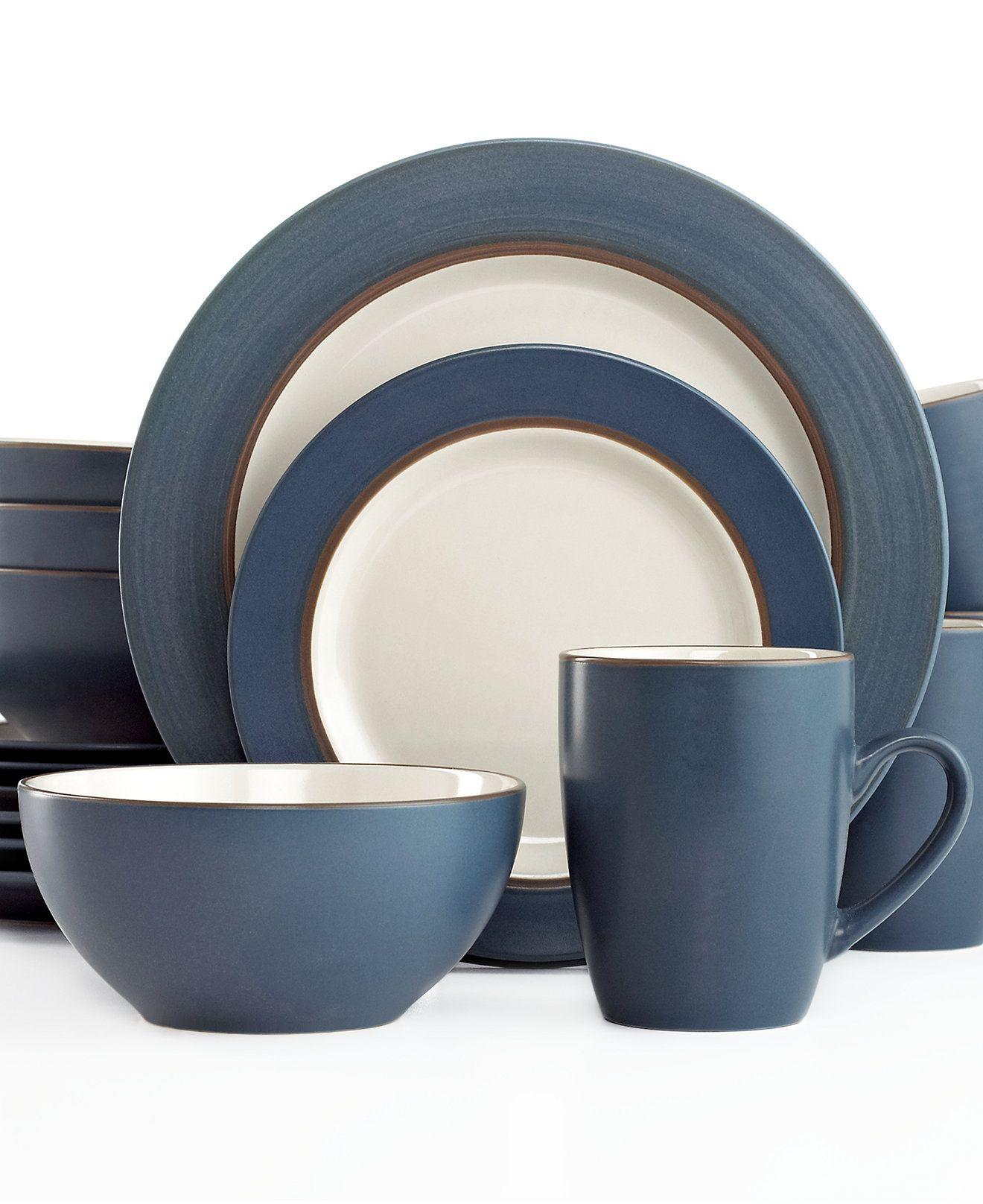 Thomson Pottery Kensington Stone 16-Pc. Set Service for 4 - Casual Dinnerware  sc 1 st  Pinterest & Thomson Pottery Kensington Stone 16-Pc. Set Service for 4 - Casual ...