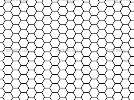 hex graph 6 wallpaper - sef - Spoonflower