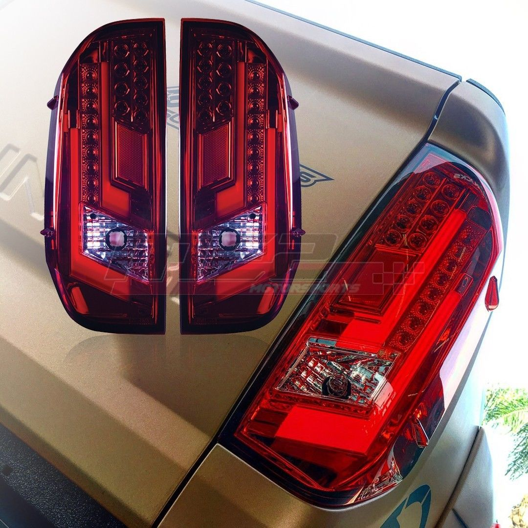 Winjet Oe Factory Fit For 2014 2019 Toyota Tundra Led Brake Tail Lights Red Ebay Toyota Tundra Tail Light Toyota
