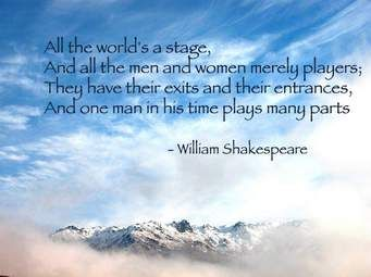 all the worlds a stage quote