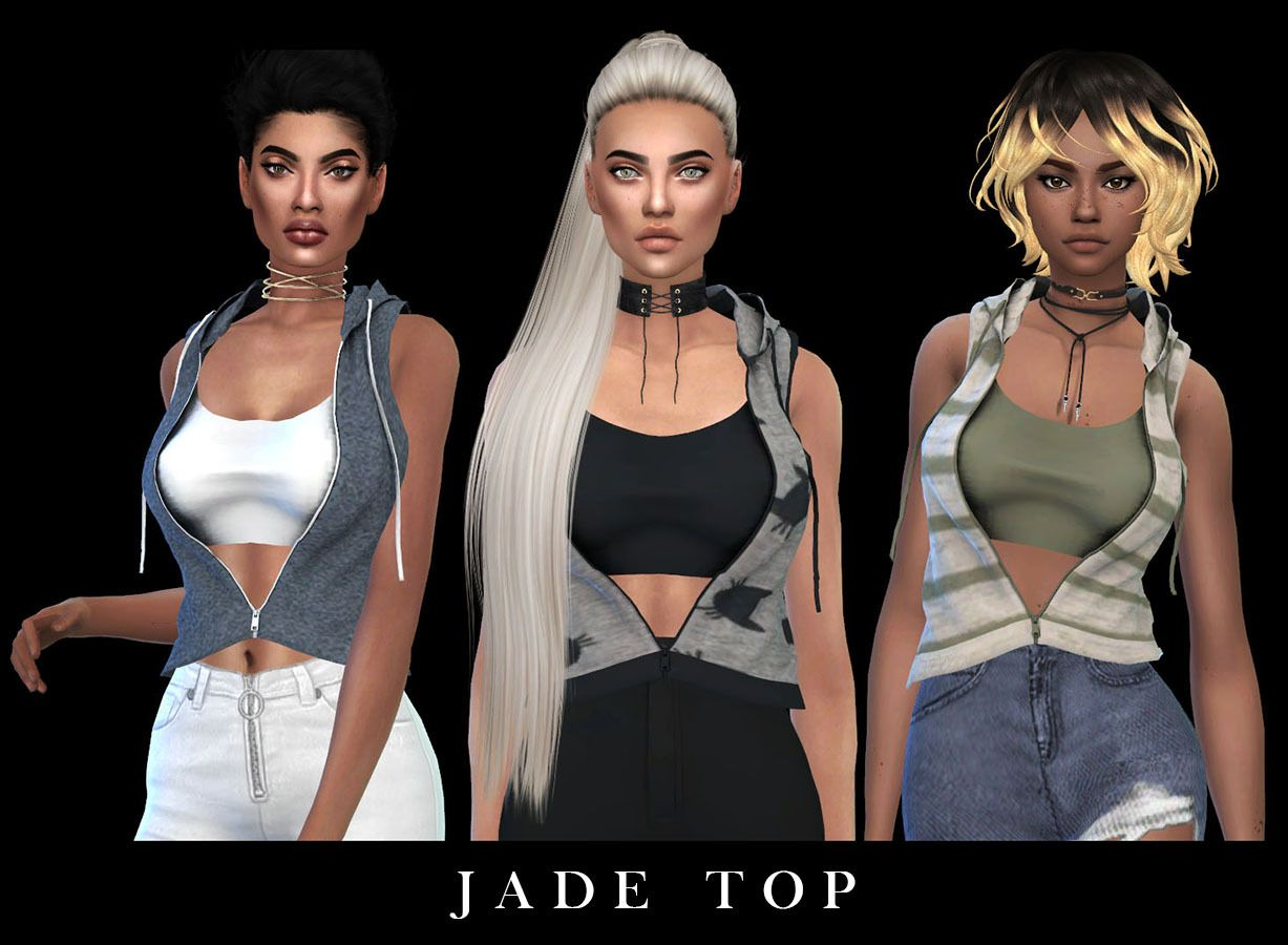 0a5884c0b5808f Lana CC Finds - Loose Shirt Fixed by Leosims (Sims 4) 20 swatches ...