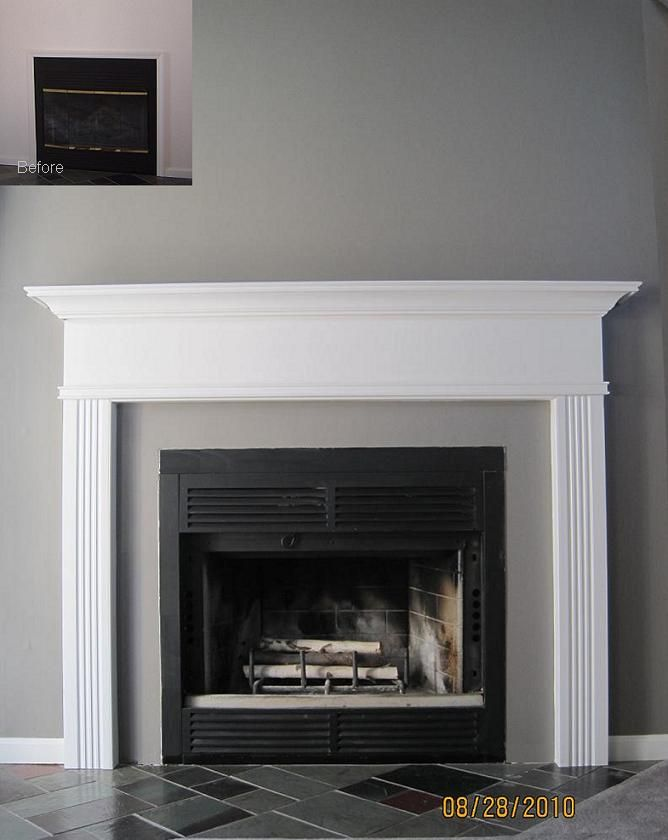 20 Best Fireplace Mantel Ideas For Your Home Pin Pinterest Mantels Wooden And White