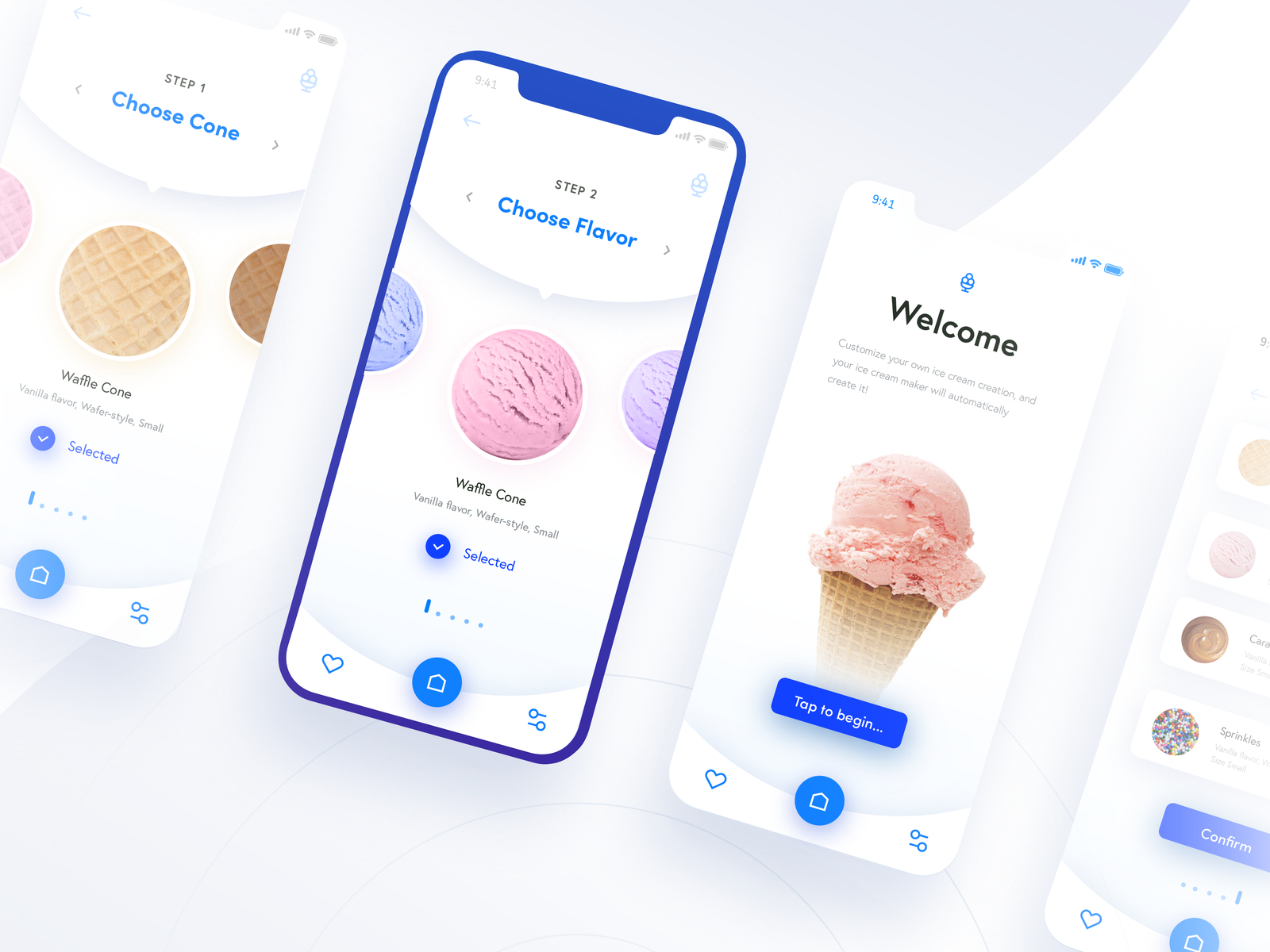 Ice Cream Generator App🍦 (Automated Hack #21) | UI/UX