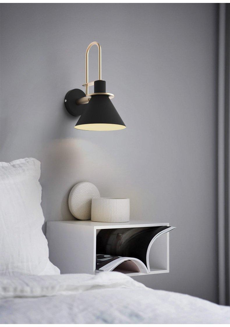 Oklak Black Light Fixture On Wall Wall Lights Gold Wall