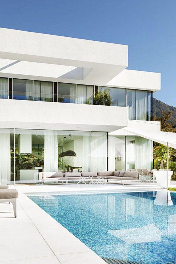 summer dream houses living pinterest moderne h user einrichten und wohnen und traumh user. Black Bedroom Furniture Sets. Home Design Ideas
