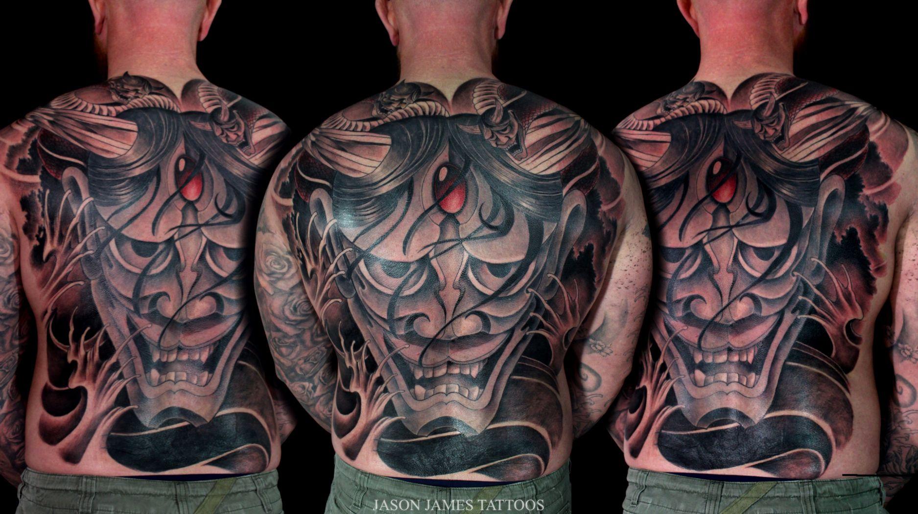 Neo japanese back piece by jason james tattoo tattoo for Neo japanese tattoo