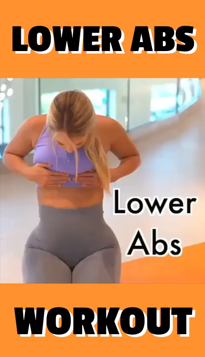 Fitness Lower Abs Workout #upperabworkouts