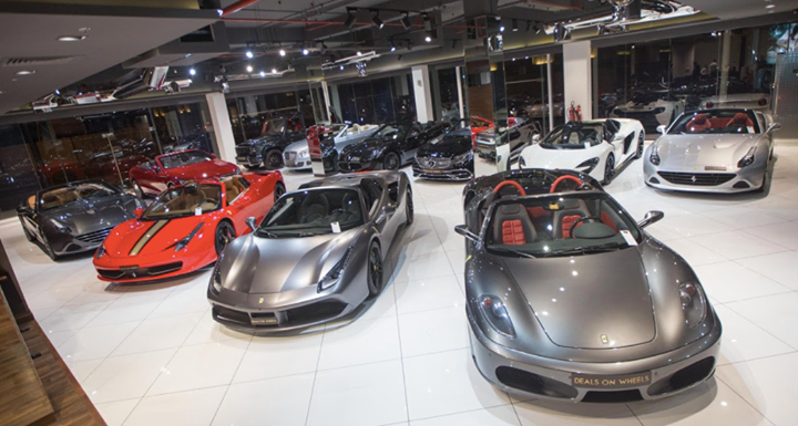 Pick Your Car From The Showroom Dealsonwheels Dubai Luxury