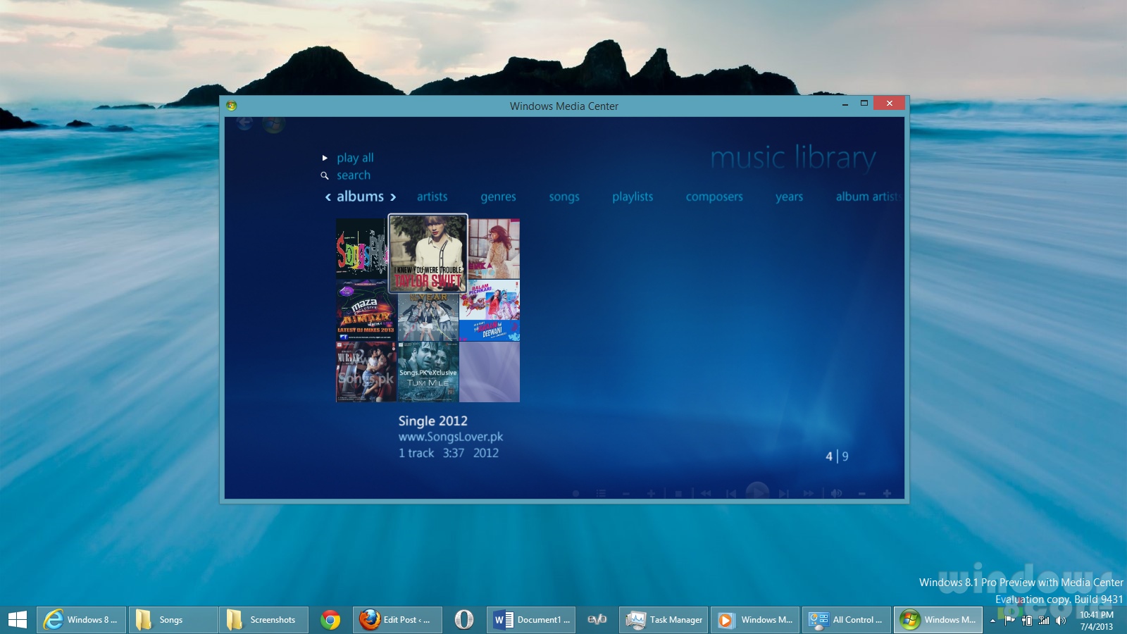 How to get and install Media Center in Windows 8 1 Preview