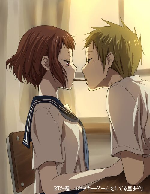 The Only Good Thing About Hyouka Was In End Satoshi And Mayaka Im Not Even Sure Whether Or They Ended Up Together Oh Frustration