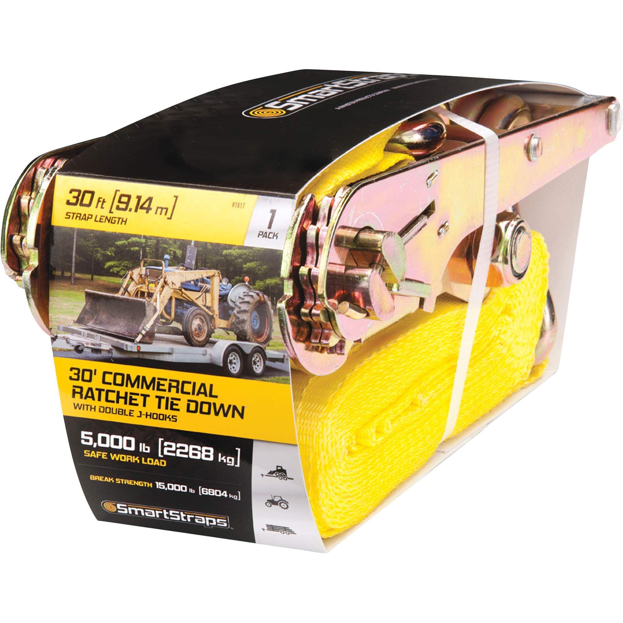 Smart straps commercialgrade ratchet tiedown 15