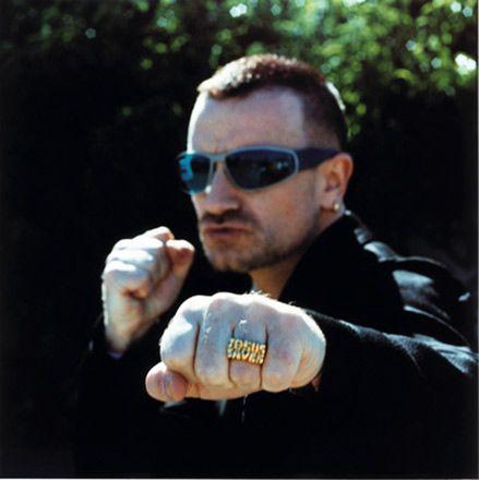 Anton Corbijn - Bono - Jesus Saves, San Francisco