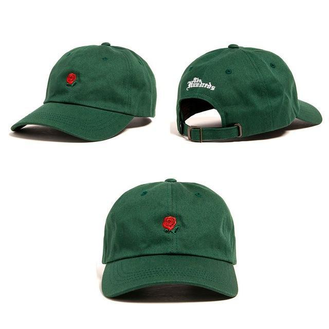 The Hundreds Rose Dad Hat Gorras 760000b42420