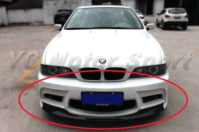 Car Accessories Frp Fiber Glass Vrs Style Front Bumper With Cf Lip