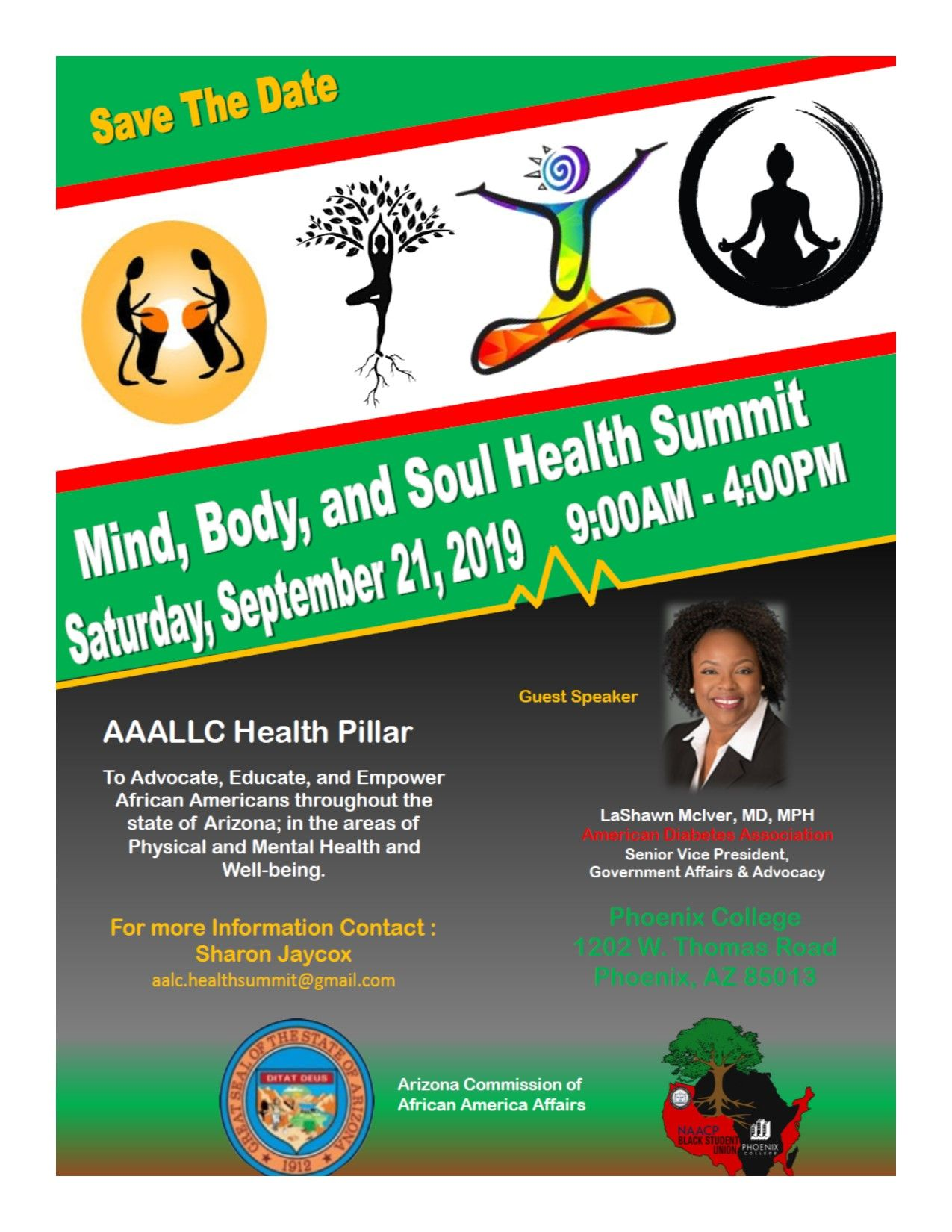 Mind, Body and Soul Health Summit Empowerment, Body