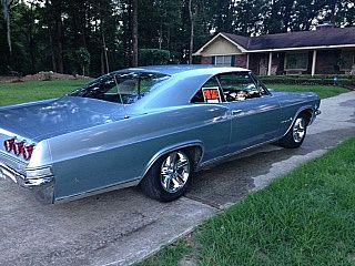 1965 Chevrolet Impala Mist Blue Impala For Sale Chevrolet Impala Impala