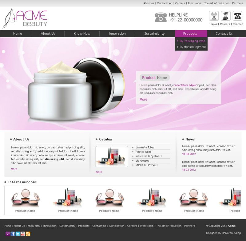 Online Shopping Website Templates For Bag Shop Online - Buy ...
