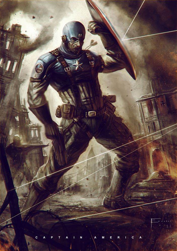 Captain America by ~TomEdwardsConcepts on deviantART