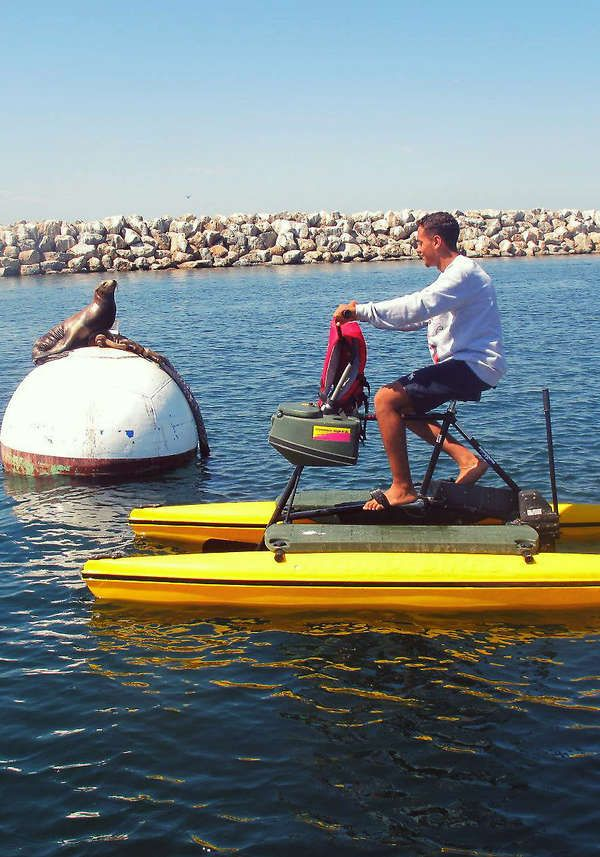One Hour Hydrobike Al For Or Two South Bay Hydrobikes In Redondo Beach