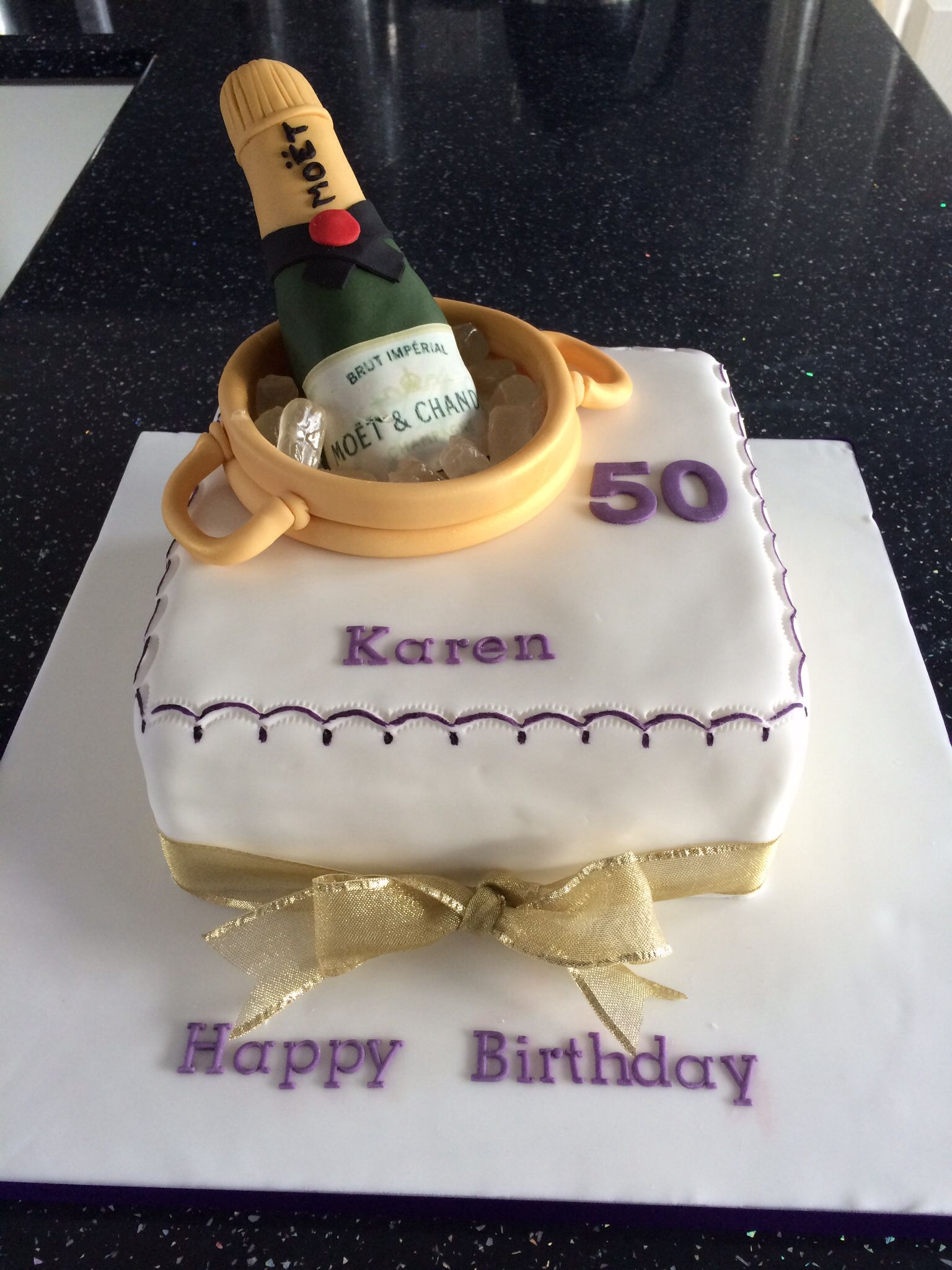 Images Of Birthday Cake And Champagne : Champagne bottle 50th birthday cake My cakes Pinterest ...