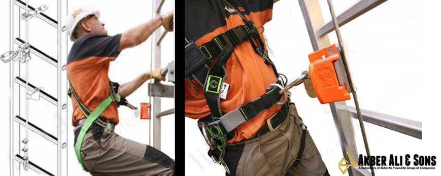 Vertical Wire Rope of # Tractel is a fall protection system ...