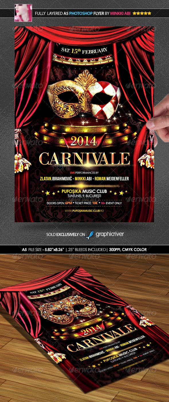 mardi gras party psd flyer template psdflyer com carnival 2014 poster flyer clubs parties events here